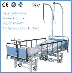 3-Crank Medical Manual Orthopedic Bed (THR-TB004) pictures & photos