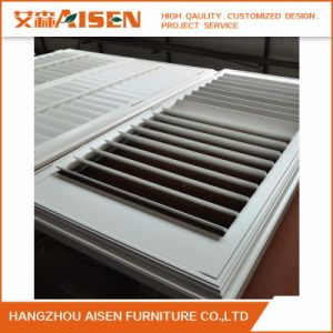 Real Wood Plantation Shutter Louver From China pictures & photos