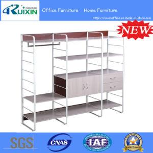 2015 Modern Wooden&Metal Bookshelf (RX-MB0708)