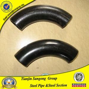 90 Deg Carbon Steel Black Paint ASME A234 Wpb Elbow pictures & photos