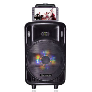 "Ce UL Free Sample 12"" High Quality bluetooth Multimedia Speaker pictures & photos"