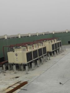 Multi Cells Rectangular FRP Cross Flow CTI Cooling Tower with High Performance pictures & photos