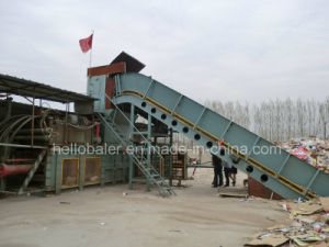 Automatic Waste Paper Baler with Ce Certificate (HFA20-25) pictures & photos