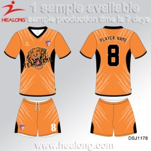 Healong Customized Teamwear High Quality Soccer Jersey pictures & photos