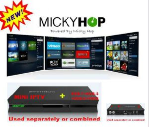 Android DVB-S2/T2/C/ISDB-T Global IPTV Box with Cloud Based Mickyhop APP pictures & photos