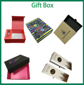 Custom Gold Foil Stamped Luxury Carton Boxes for Packing pictures & photos
