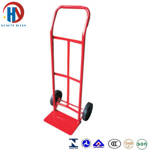 Metal Red Hand Trolley Ht1565 pictures & photos