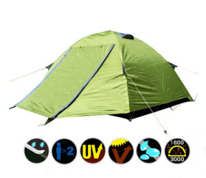 Summer Double Layer Water Proof Camping Tent (KH009)