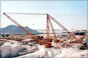 Derrick Crane 40t CE Approved Industrial Crane pictures & photos