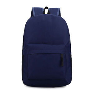 Retro Polyester School Backpack Bag for Teenagers, Outdoor pictures & photos