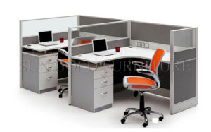 Modern Two Person Seats Office Partition (SZ-WS016) pictures & photos