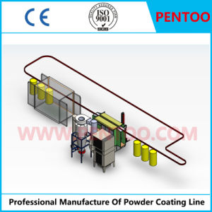 Powder Painting Plant for Coating High-Pressure Tank with High Performance pictures & photos