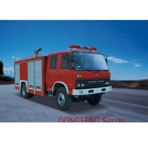 Dongfeng 153 Powder/Foam Fire Truck