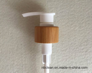 24/410 Screw Lotion Pump with Bamboo Collar