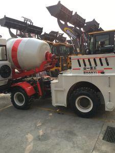 Cement Mixer Truck 1 Yard Truck Concrete Mixer for Sale pictures & photos