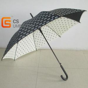 Black and White Auto Open Wholesale Umbrellas (YSN10) pictures & photos