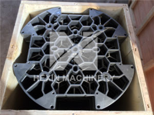 Qingdao Hexin Cast Fixture for Pit Furnace Base Tray pictures & photos