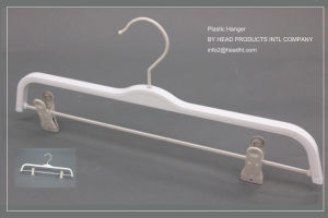 Hh Brand Pants Hanger, Plasticbottom Hanger, Wholesale Pants Hanger Hangers for Jeans pictures & photos