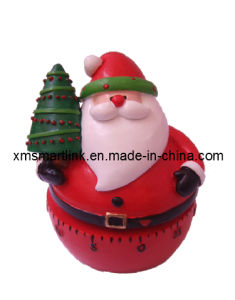 Christmas Santa Mechanical Kitchen Timer, 60min Cooking Timer pictures & photos