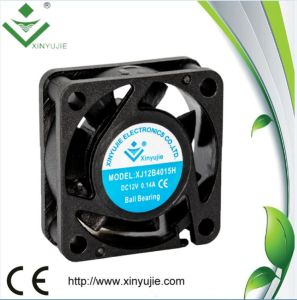 5V 12V 24V DC Cooling Fan 40X40X15mm Hot Air Exhaust Fan pictures & photos