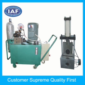 Factory Custom φ 12mm Hydraulic Extrusion Screen Changer for Plastic Extruder pictures & photos
