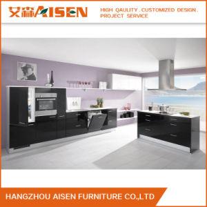 Blum and Hettich Hardward Modern Kitchen Cabinet pictures & photos