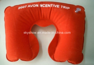 Large Printing Inflatable Neck Pillow pictures & photos