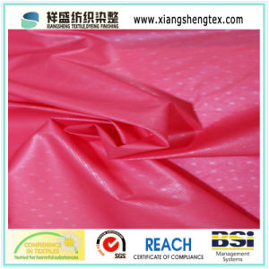 Gilding Nylon Downproof Fabric for Down Garments pictures & photos