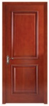 High Quality Engineer Wooden Door with PU Painting pictures & photos