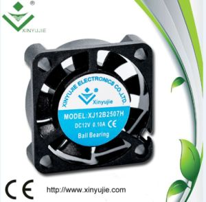 High Performance 2507 DC Fan 5V 12V 25mm DC Air Cooling Fan 25X25X07mm pictures & photos