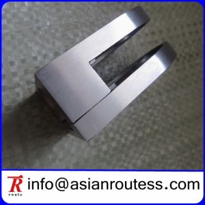 Flat Stainless Steel D Glass Clamp