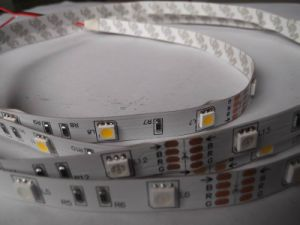 5m 300 LEDs Flexible LED 5050 SMD White Car LED Strip Light 12V None-Waterproof