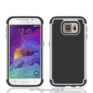 2015 New 3in1 PC+TPU+Silicone Cover for Samsung Galaxy S6 pictures & photos