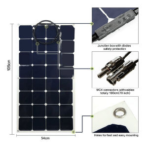 2017 Hot Sale Flexible Solar Panel 100W Sunpower Solar Cell pictures & photos