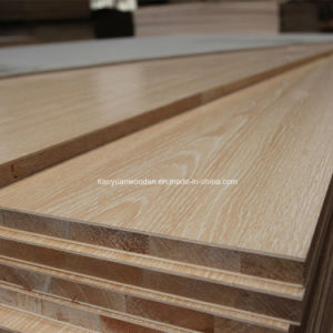Wooden Grain Color Melamine Blockboard for Wordrobe pictures & photos