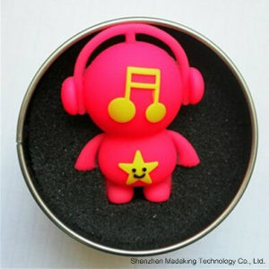 Custom Musician Shape USB Flash Drives Pen Drive pictures & photos