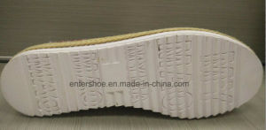 New Style Slip on Women′s Jute Shoes with Rubber Outsole (ET-LD160115W) pictures & photos