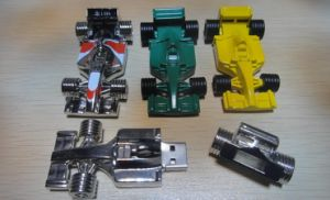 Race Car USB Key USB Disk Metal USB Driver (DG-SZ098)