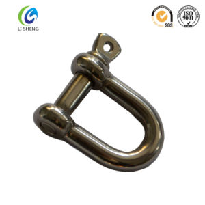 Stainless Steel and Galvanized Long Dee Shackle pictures & photos