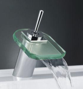 Single Lever Bathroom Basin Mixer with LED Light