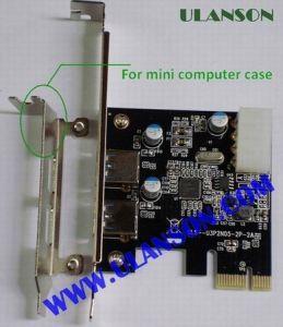 PCI-E USB3.0 Card 2port (ULS-U3P4N-2P)
