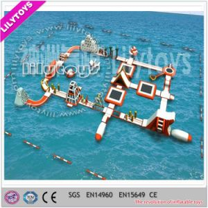 New PVC Tarpaulin Inflatable Water Toys Floating Water Park for Sale (J-water park-119)