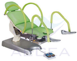 Pink Green Multifunction Portable Adjustable Electric Gynecology Chair (AG-S105c) pictures & photos