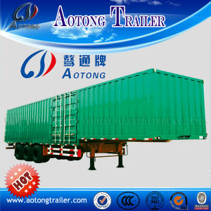 China Manufacturer Cheap 60t /70t/ 80t Van Type Semi Trailer pictures & photos