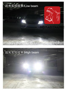 Waterproof Ce RoHS Emark Certificate LED Headlight 80W 7200lm Fanless 5s LED Headlight 9004 9007 pictures & photos