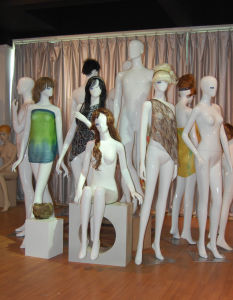 Full Body White Female Mannequins, Half of Eyelashes Mannequins pictures & photos