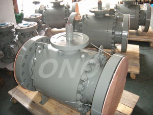 Forged Steel Flange Ball Valve High Pressure pictures & photos