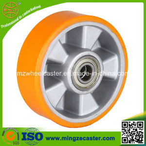 Heavy Duty Trolley Ball Bearing PU Wheel pictures & photos