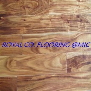 Distressed Acacia Small Leaf Hardwood Flooring Tile Building Material