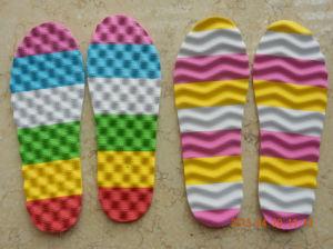 EVA Inner Sole Sheets Massage Double Color Shoe Sole pictures & photos